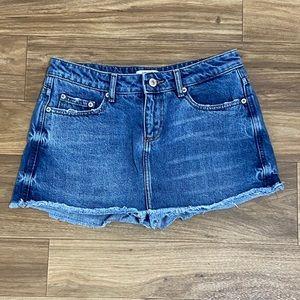 Denim short / skirt